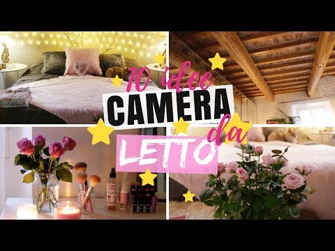 10 IDEE PER DECORARE LA CAMERA DA LETTO / ROOM MAKEOVER ITA / DECORARE LA CAMERA FAI DA TE DIY