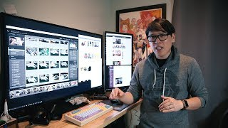 Hands-On with LG's 43-Inch 4K Monitor
