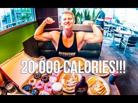 20,000 CALORIE EATING CHALLENGE - STUDENT AESTHETICS
