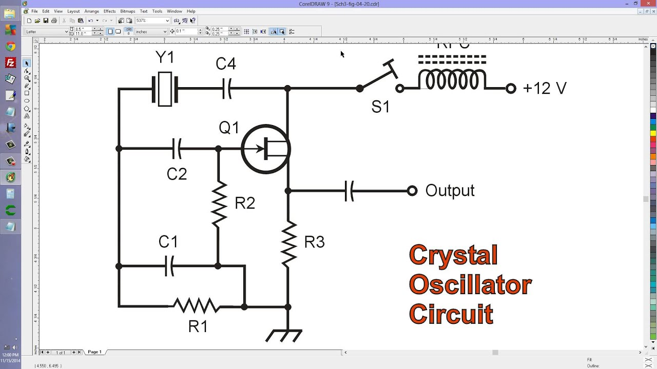 crystal oscillator circuit addendum youtube rh youtube com Simple Oscillator Circuit Crystal Oscillator Schematic Tube