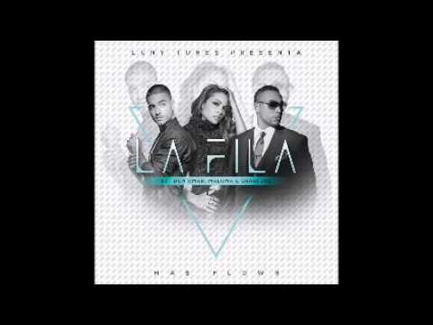 Don Omar Ft Sharlene Y Maluma-  La Fila (Audio Oficial) (Mas Flow 3)