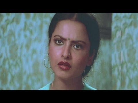 Vinod Mehra, Rekha, Bindiya Chamkegi - Comedy Scene 4/10