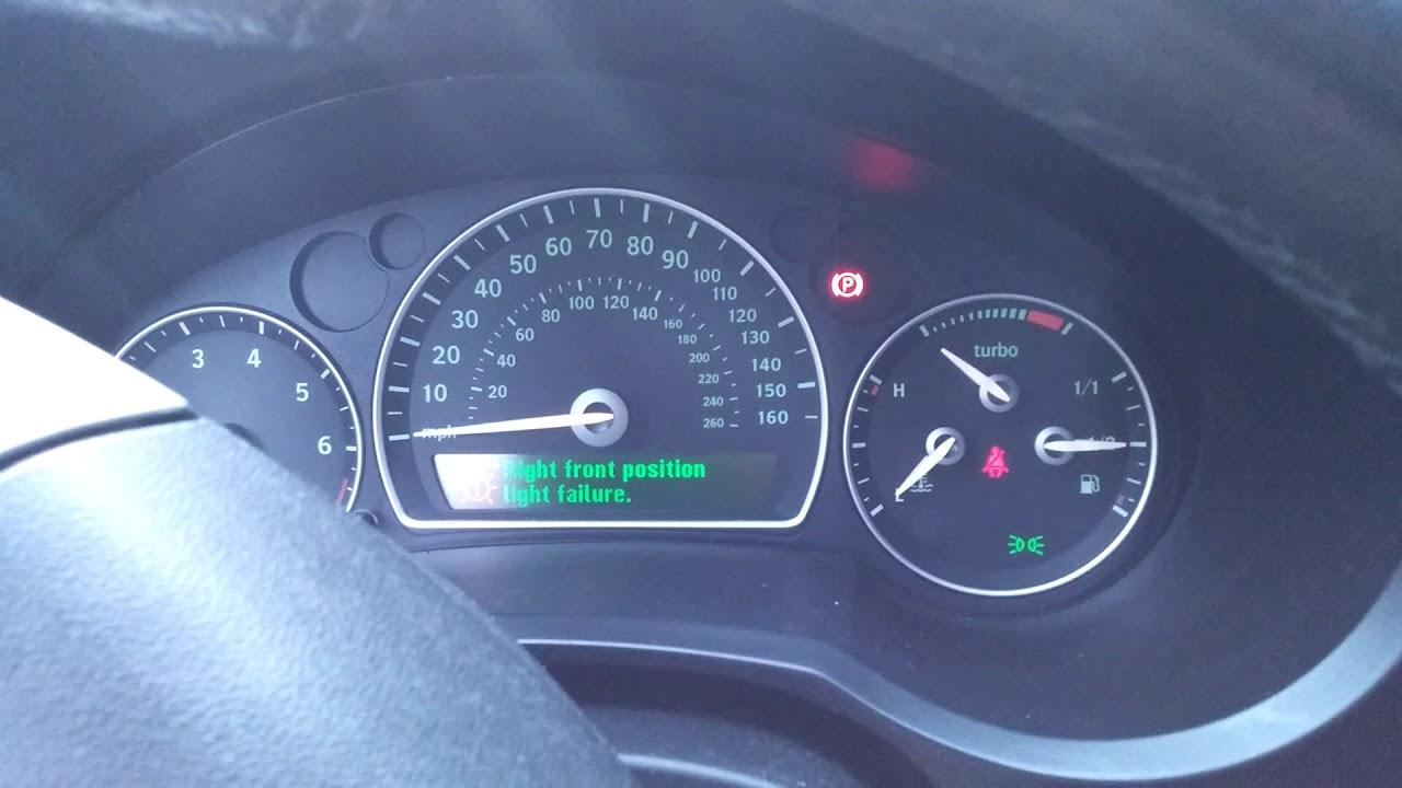 2007 Saab 9-3 2 0T - Won't Crank, One Click