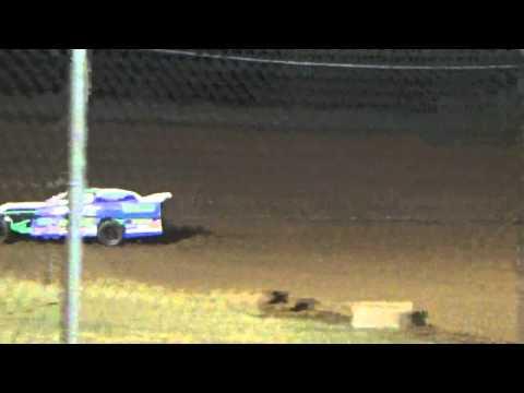 Ark La tex speedway limited modified heat race tootsie smith