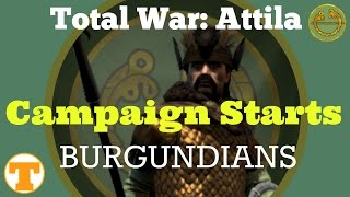 Campaign Starts: Burgundians