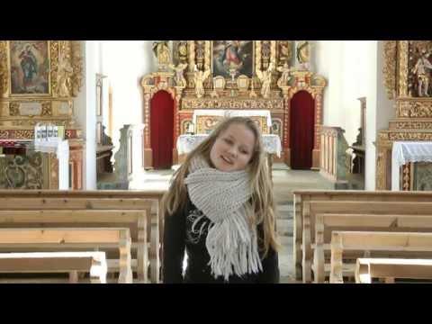 Laura van den Elzen - Hallelujah - 14 years - OFFICIAL VIDEOCLIP