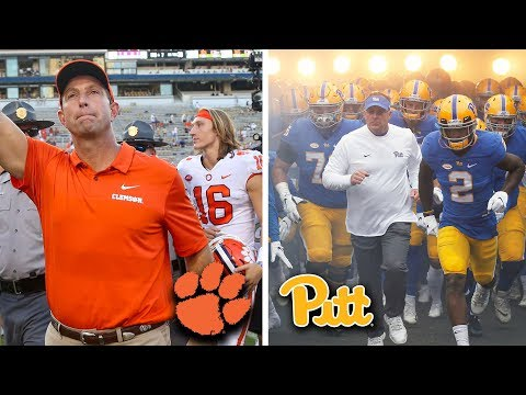 Clemson vs. Pittsburgh 2018 ACC Football Championship Preview