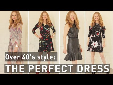 dfeb3646c The perfect dress - the perfect dress for women over 40 - fashion for women  over 40 - YouTube