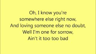 One For Sorrow Steps Karaoke with backing vocals [official]