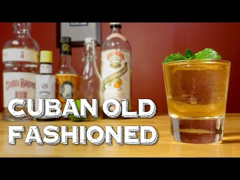 Cuban Old Fashioned - a Prohibition-Era Twist on the Classic with Cuban Flair