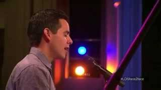 David Archuleta 03 I Need Thee Every Hour @ Live Chat (24 June 2014)