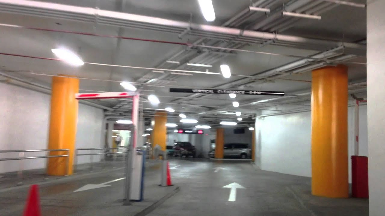 New Glorietta Basement Parking Ayala Center Makati By