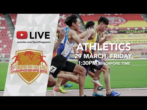 🔴 Athletics Day 2 | 81st Singapore Open Track & Field Championships 2019