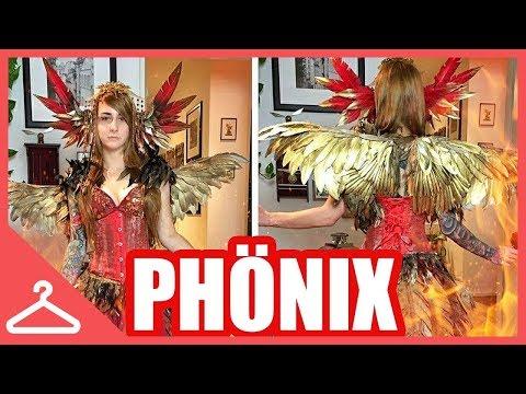 Phönix Cosplay DIY // Komplettes Kostüm // Kupferfuchs