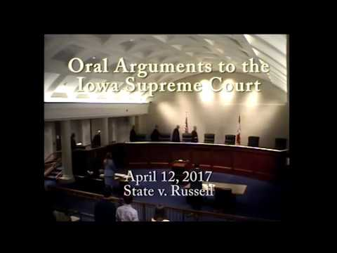 16-0807 State of Iowa v. Andrew Lee Russell, April 12, 2017