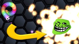 Slither.io - Just Do It - Slitherio Trolling Snake