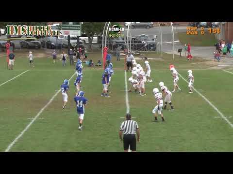 Hopkinton Middle School Football vs. Mashpee