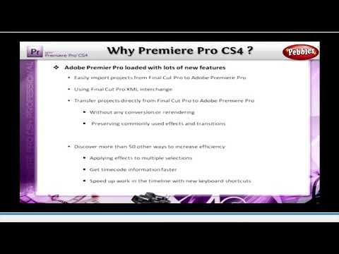 Fundamentals & History of Premiere Pro || Tutorial for Premiere Pro CS4 || Learning Premiere Pro CS4 thumbnail