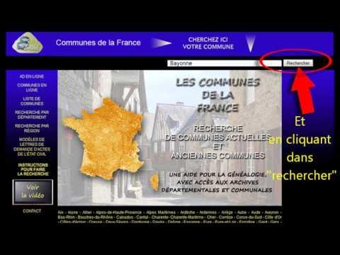 Video tutoriel de Communes de la France