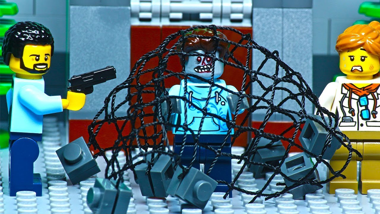 Lego Zombie Attack - Hunting - YouTube