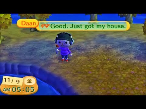 Friend Chatting Demonstration - Animal Crossing: New Leaf