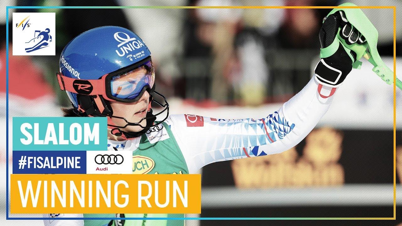 Petra Vlhova Wins Slalom in Kranjska Gora