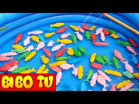 Trò Chơi Câu Cá Trẻ Em & Đồ Chơi Cho Bé Trai | Fish Games For Kids BIBO TV