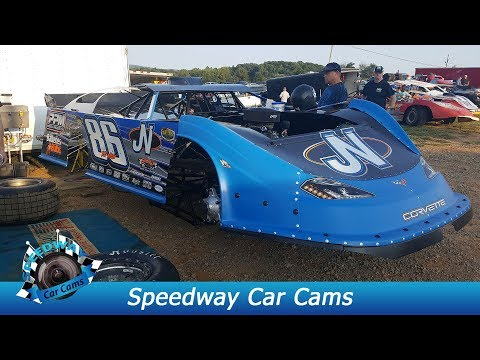#86 Jeff Neubert - Super Late Model - 9-3-17 Tazewell Speedway - In Car Camera