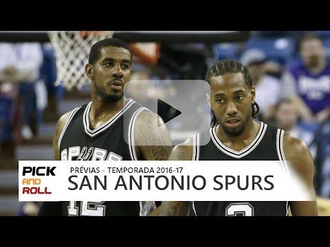 PRÉVIAS NBA 2016-17 - San Antonio Spurs