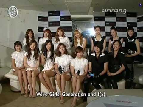 [en] SNSD & F(x) New Chocolate Phone Showcase A Oct26.2009 GIRLS' GENERATION