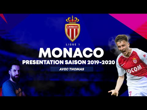 Présentation MONACO Ligue 1   Saison 2019-2020 / Mercato Du Club
