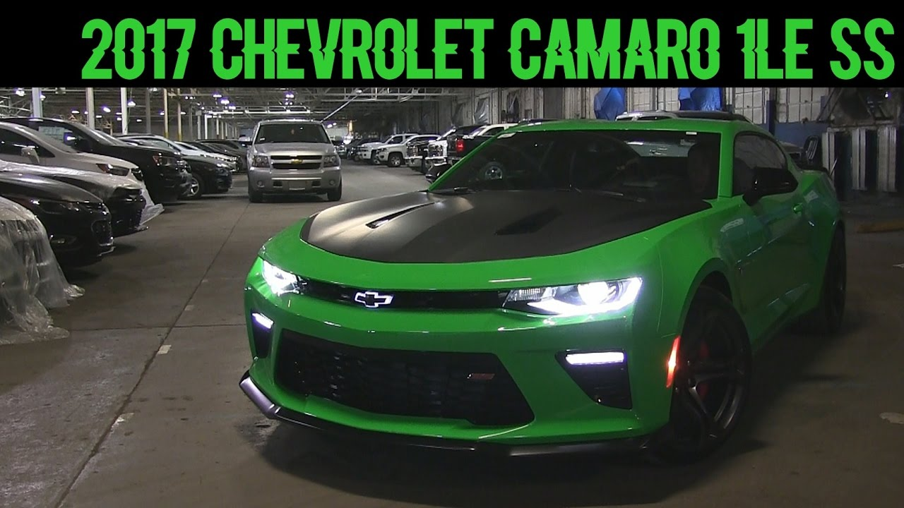 2017 Chevrolet Camaro Ss 1le Start Up Rev And Quick Look Dan Mins Buick 8776
