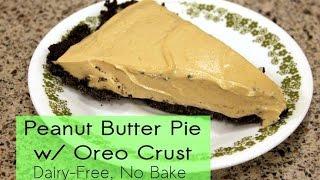 Creamy Peanut Butter Pie (dairy-free)
