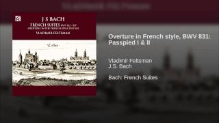 Overture in French style, BWV 831: Passpied I & II