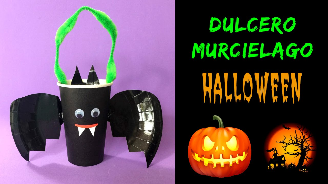 Dulcero murcielago ideas para halloween youtube - Murcielagos para halloween ...
