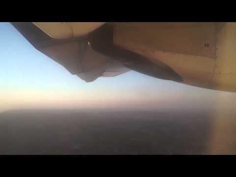 African Sky at Night | Tanzania-Germany | Precision Air-Swiss | ATR-72