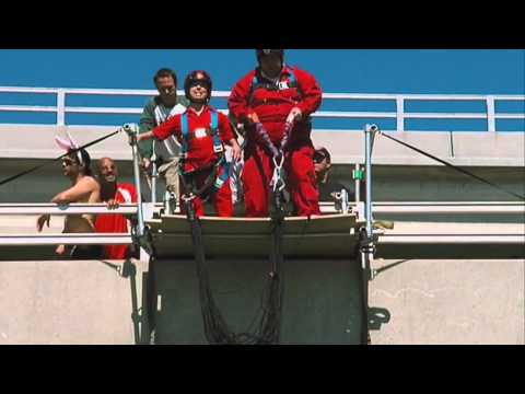Jackass Part 2 - Bungee Jump Stunt Full Scene