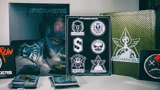 Lawbreakers Collectors Edition Unboxing - PC Limited Run Games release