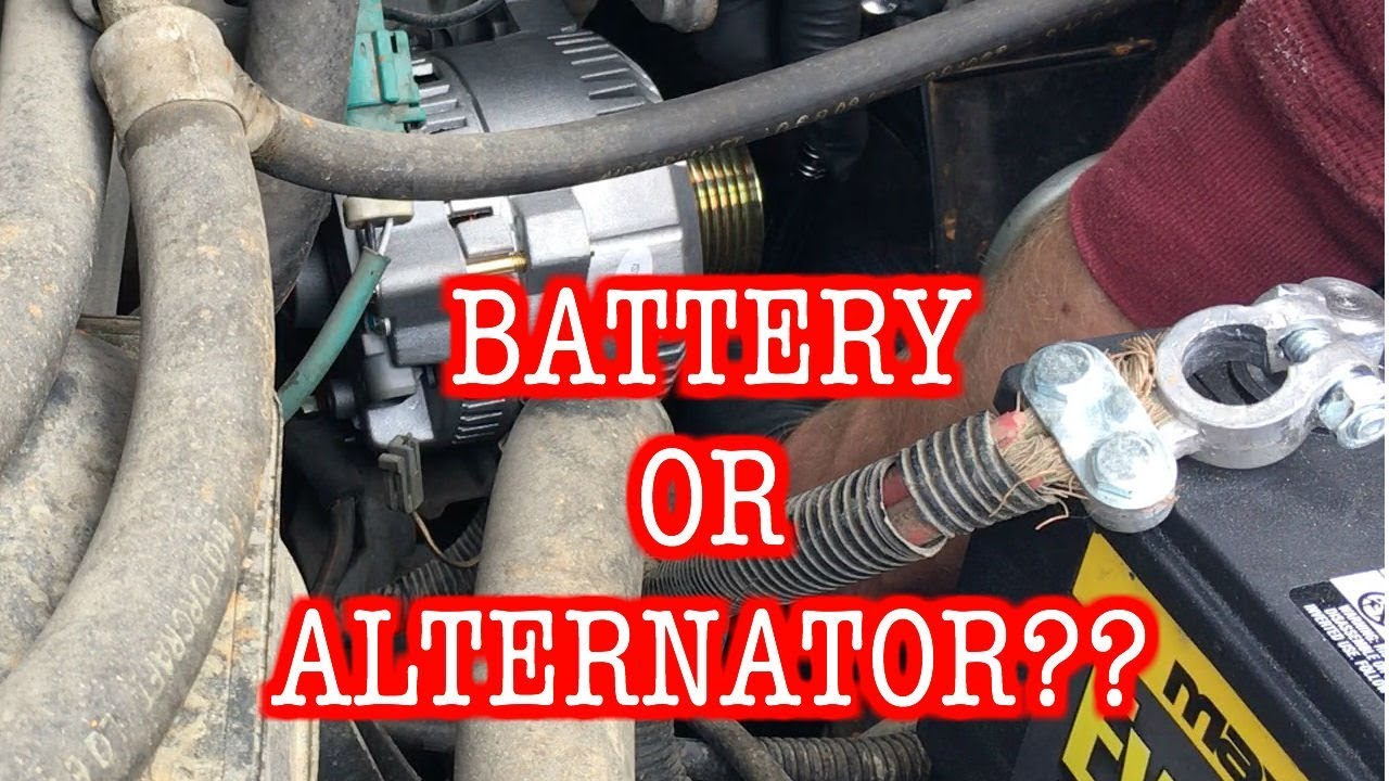 changing alternator 1996 ford f150 straight 6 super easy  [ 1280 x 720 Pixel ]