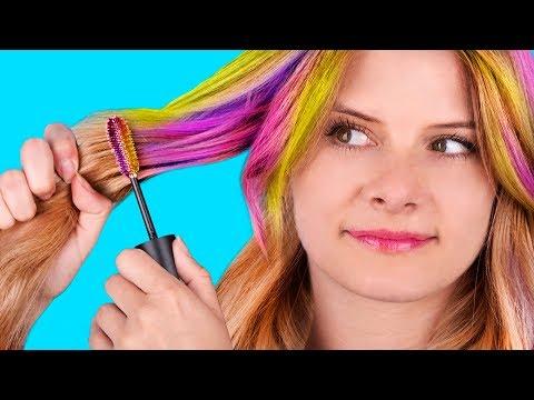 14 лайфхаков для волос / Простые причёски