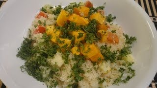 Couscous Salad With Roasted Pumpkin