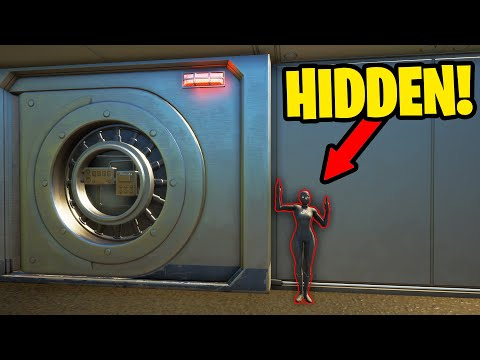 HIDING inside IRON MAN'S VAULT while it's CLOSED! (funny reactions)