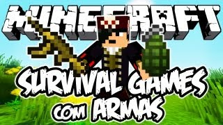Survival Games com Armas: Minecraft (Novo)