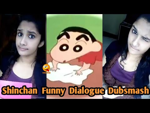 Shinchan Funny Dialogue Dubsmash Shin Chan Tamil Youtube