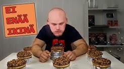 10 Juustokakkua haaste | 15 000 kcal | (Ei enää ikinä juustokakkua)