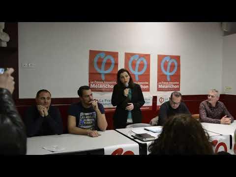 Discours de Marina Mesure à Marseille - Européennes 2019