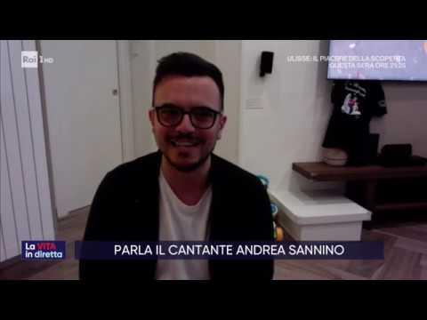 Napoli canta dai balconi - La vita in diretta 13/03/2020