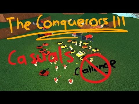 ROBLOX The Conquerors 3 Conquest Casual FULL Gameplay - Not Challenging