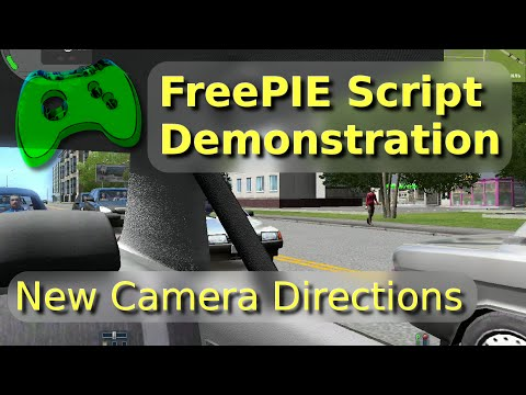 City Car Driving :: Topic: Better camera controls FreePIE script (1/1)