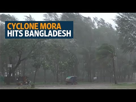 Cyclone Mora brings destruction to Myanmar refugee camps in Bangladesh